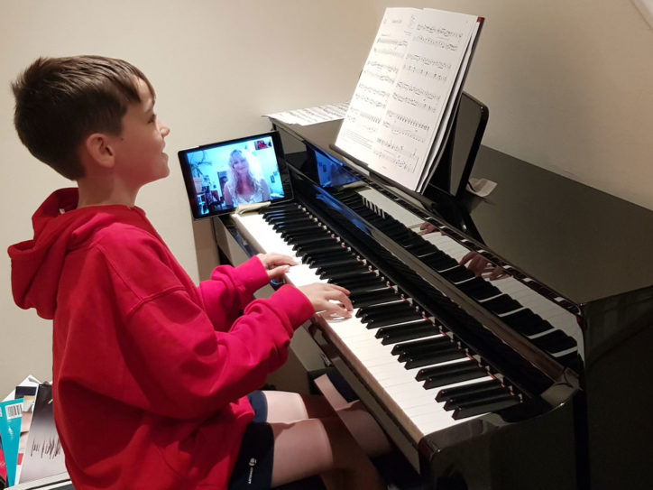 online piano lessons near me